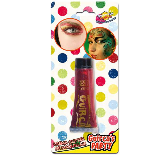 "Make-up party ""Brokat"", czerwony, GUIRCA, 20 ml"