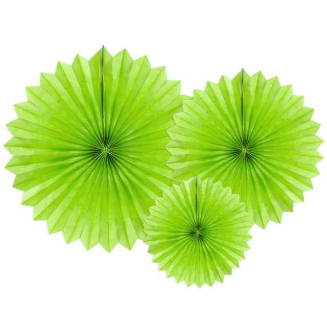 """Rozeta wisząca """"Classic"""", zielone jabłuszko, 20-40 cm, 3 szt"""