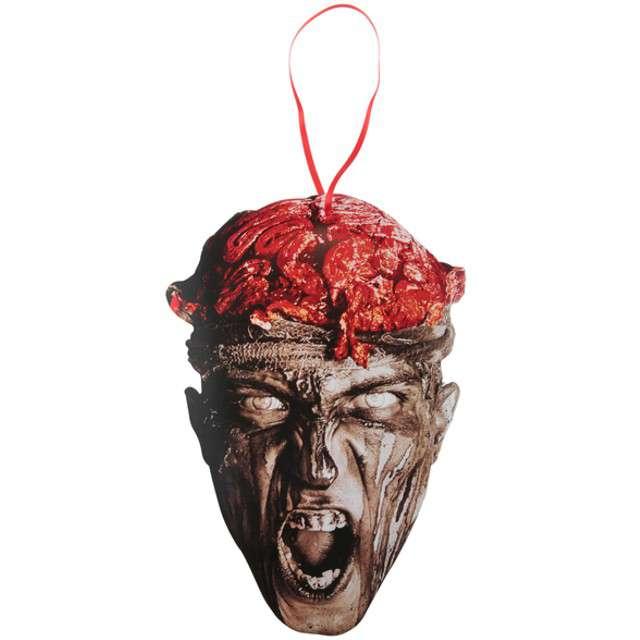 """Dekoracja kartonowa """"Zombie"""", SANTEX, 40 cm"""