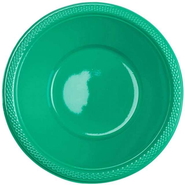 """Miska plastikowa """"Diamond - jumbo pack"""", zielona, 355 ml, 20 szt"""