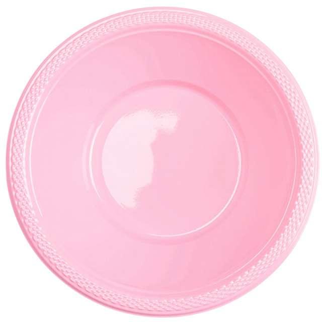 "Miska plastikowa ""Diamond - jumbo pack"", różowa pastelowa, 355 ml, 20 szt"