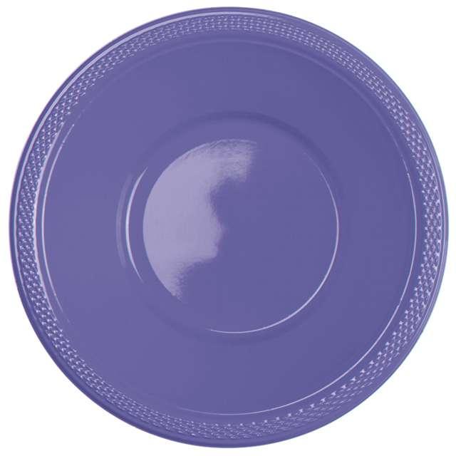 """Miska plastikowa """"Diamond - jumbo pack"""", fioletowa pastelowa, 355 ml, 20 szt"""