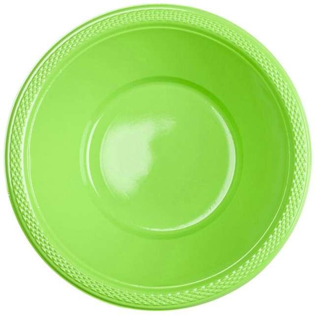 """Miska plastikowa """"Diamond - jumbo pack"""", zielona kiwi, 355 ml, 20 szt"""
