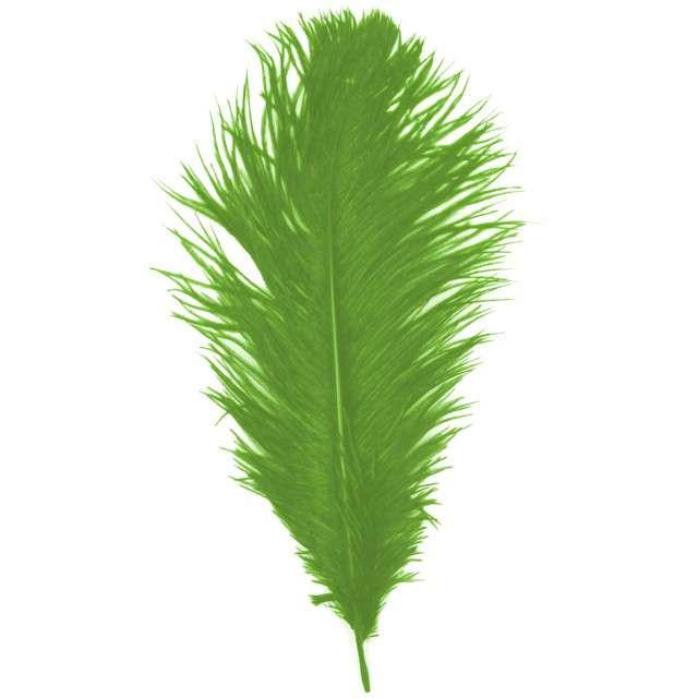 """Dekoracja """"Pióro - Retro Gigant - Lata 20"""", zielony, GUIRCA"""