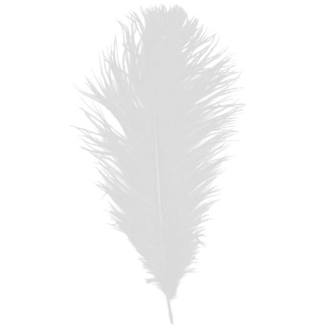 """Dekoracja """"Pióro - Retro Gigant - Lata 20"""", biały, GUIRCA"""