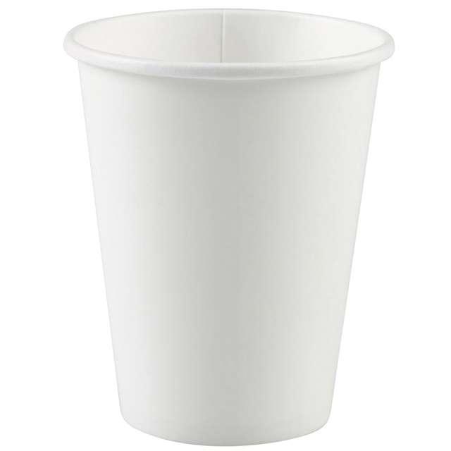 """Kubeczki papierowe """"Premium"""", AMSCAN, biały, 266 ml, 20 szt"""