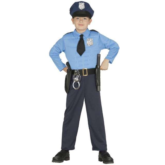"""Strój dla dzieci """"Policjant USA"""", GUIRCA, rozm. 7-9 lat"""