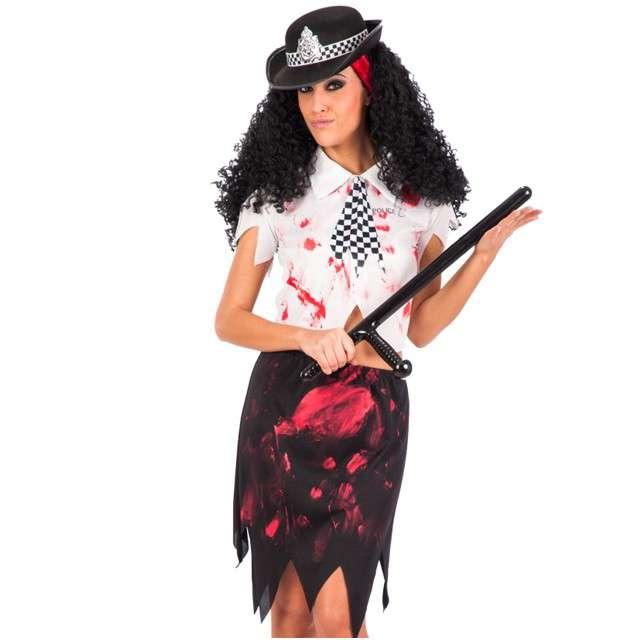 """Strój dla dorosłych """"Policjantka Zombie"""", Carnival Toys, rozm. M"""