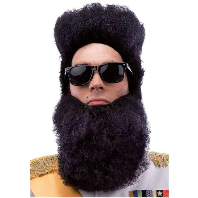 """Peruka party """"Aladdin Dyktator"""", czarny, CARNIVAL TOYS"""