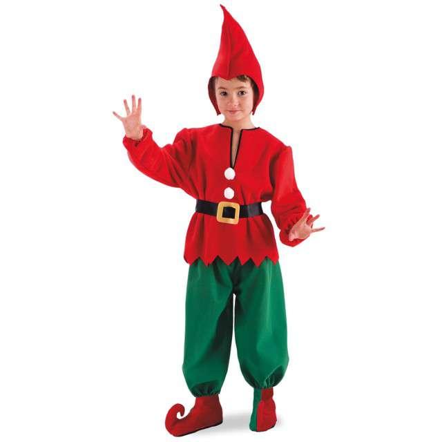 """Strój dla dzieci """"Mały Elf"""", Carnival Toys, rozm. 6-7 lat"""