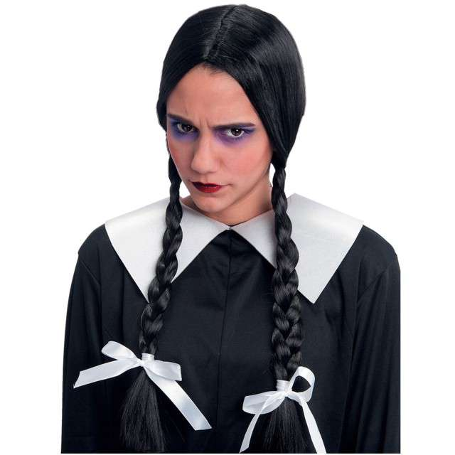 "Peruka party ""Wednesday Adams"", Carnival Toys"