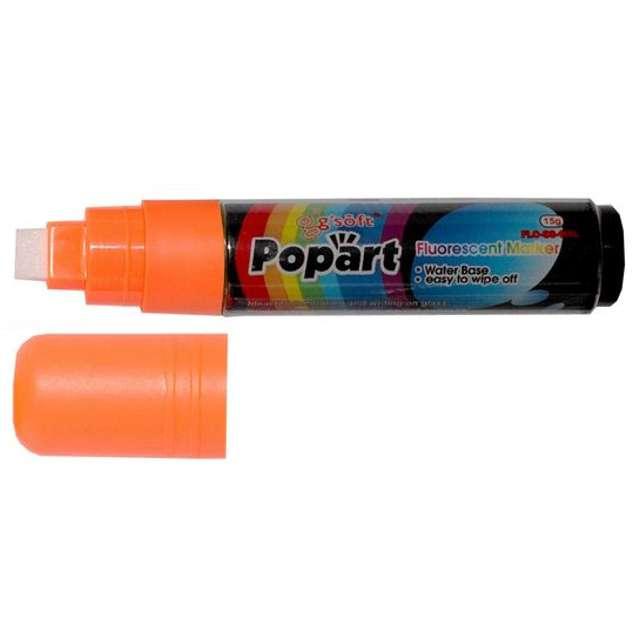 """Marker kredowy """"POPART"""", pomarańczowy, 15 g"""