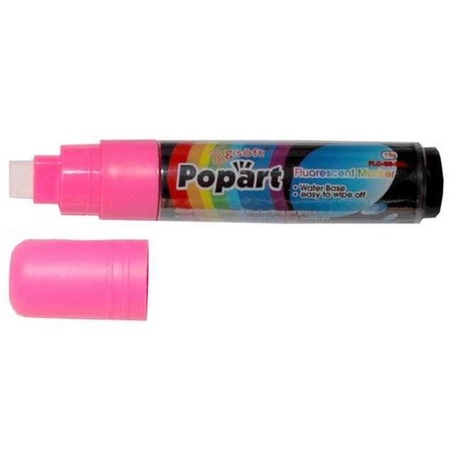 """Marker kredowy """"POPART"""", różowy, 15 g"""