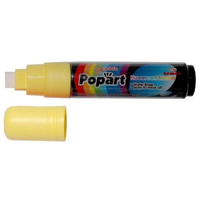 """Marker kredowy """"POPART"""", żółty, 15 g"""