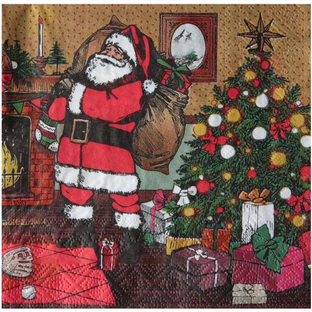 "Serwetki ""Christmas Time"", SANTEX, 33 cm, 20 szt"