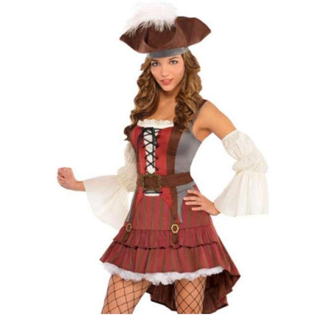 """Strój dla dorosłych """"Piratka Swan"""", AMSCAN, rozm. M"""