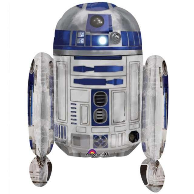 "Balon foliowy ""R2D2 - Star Wars"", AMSCAN, 26"" SHP"