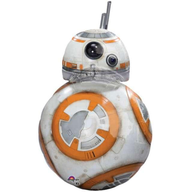 "Balon foliowy ""BB8 - Star Wars"", AMSCAN, 33"" SHP"
