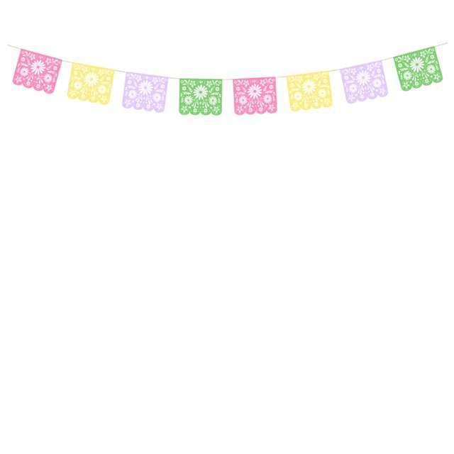 """Girlanda """"Dia de Los Muertos"""", PartyDeco, 200 cm"""