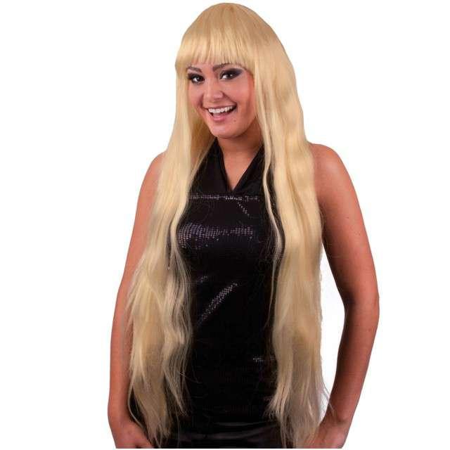 """Peruka party """"Długie włosy - Elisa"""", blond, FunnyFashion"""