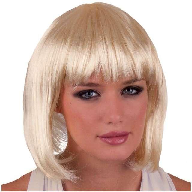 "Peruka party ""Sexy Holly"", blond, FunnyFashion"