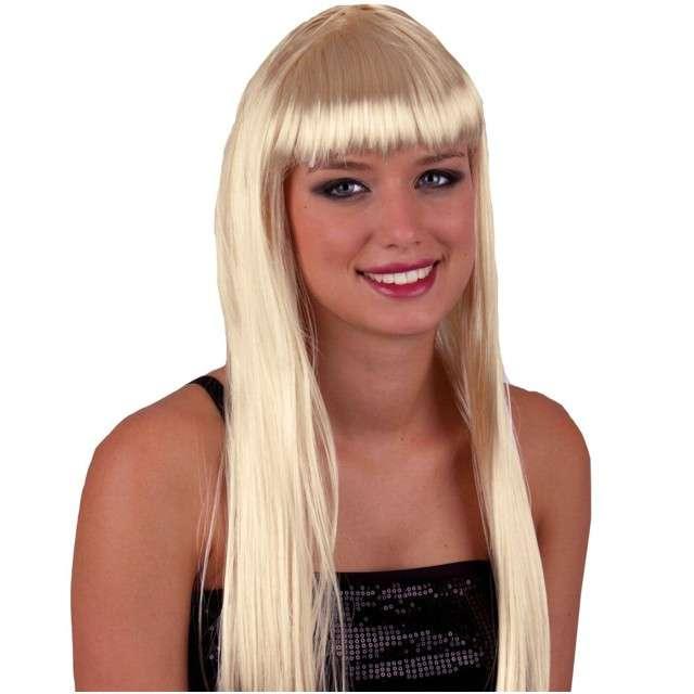 """Peruka party """"Pony - Długie Włosy"""", blond, BOLAND"""