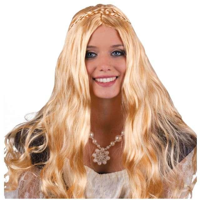 "Peruka party ""Księżniczka"", blond, FunnyFashion"