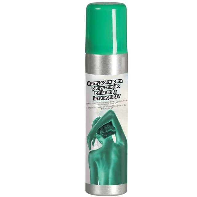 """Spray koloryzujący """"Deluxe"""", zielony, GUIRCA, 75 ml"""