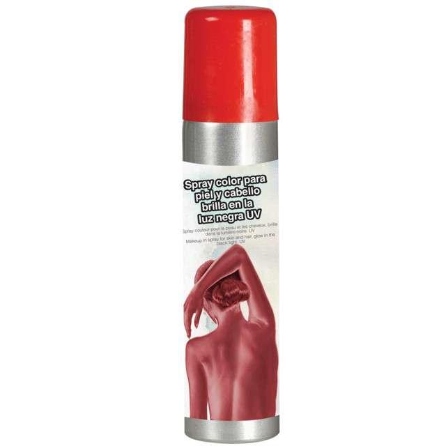 """Spray koloryzujący """"Deluxe"""", czerwony, GUIRCA, 75 ml"""