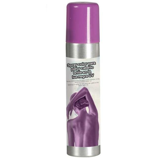 """Spray koloryzujący """"Deluxe"""", liliowy, GUIRCA, 75 ml"""