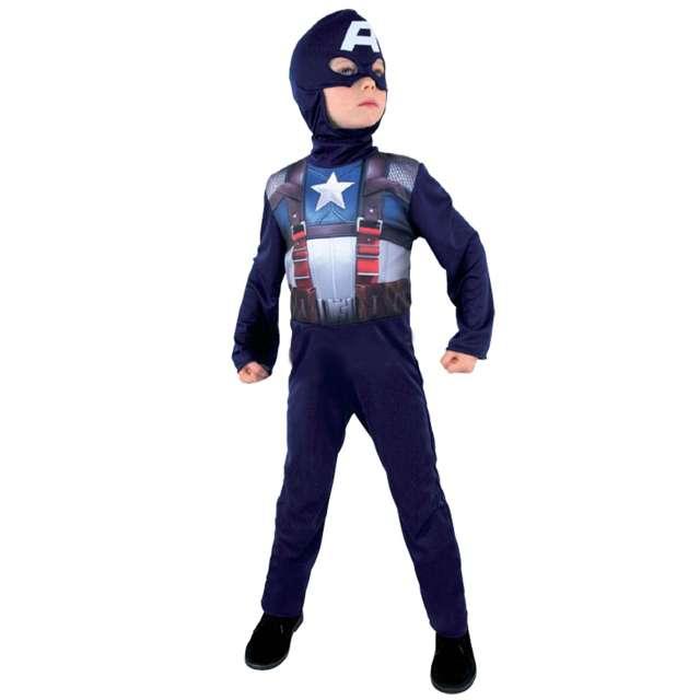 """Strój dla dzieci """"Kapitan Ameryka"""", CESAR,  rozm. 8-10 lat"""