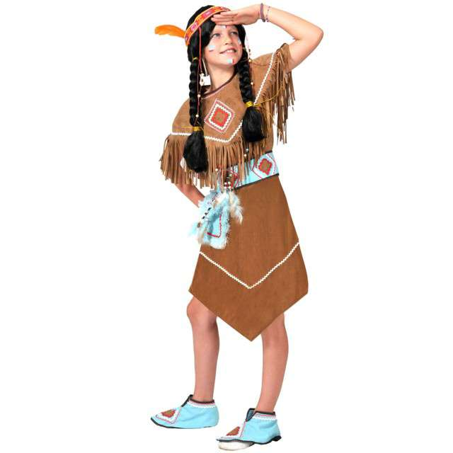 """Strój dla dzieci """"Indianka"""", FunnyFashion, rozm. 116 cm"""