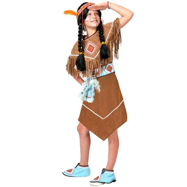 """Strój dla dzieci """"Indianka"""", FunnyFashion, rozm. 128 cm"""