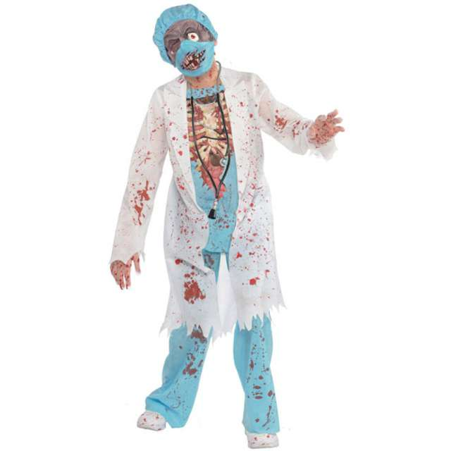 """Strój dla dzieci """"Chirurg Zombie"""", AMSCAN, rozm. 8-10 lat"""