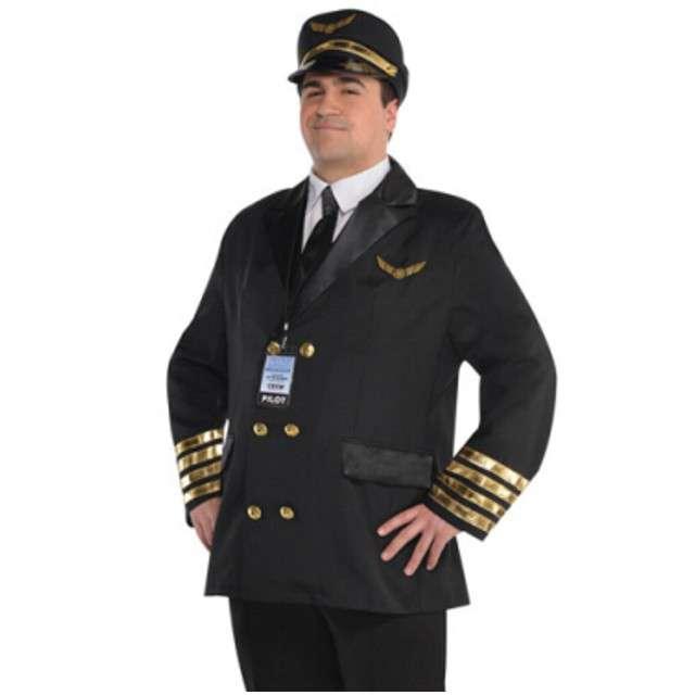 """Strój dla dorosłych """"Pilot Samolotu"""", AMSCAN, rozm. XXL"""