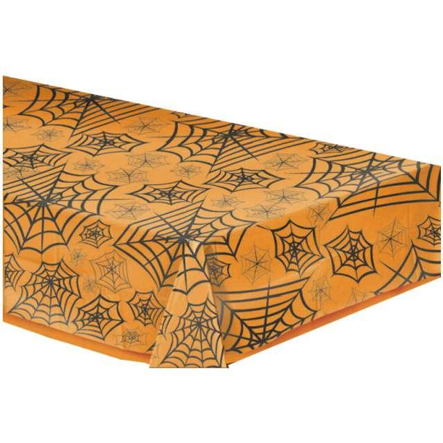 """Obrus foliowy """"Pajęczyna"""", AMSCAN, 270 x 140 cm"""