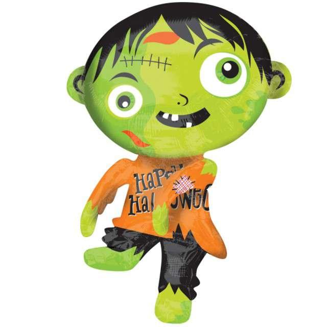 "Balon foliowy ""Zombie Halloween"", AMSCAN, 31"" SHP"