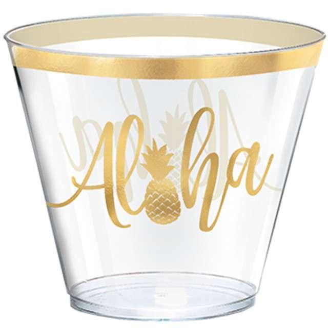 "Kubeczki plastikowe ""Aloha"", AMSCAN, 266 ml, 30 szt"