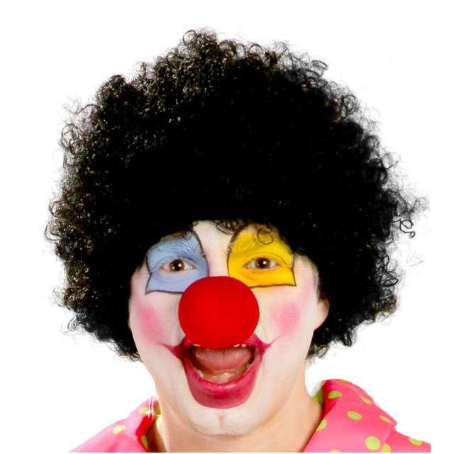 """Peruka party """"Afro Klaun"""", czarna, GUIRCA"""