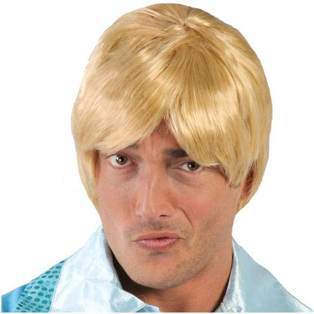 """Peruka party """"Nieśmiały Romek"""", blond, GUIRCA"""