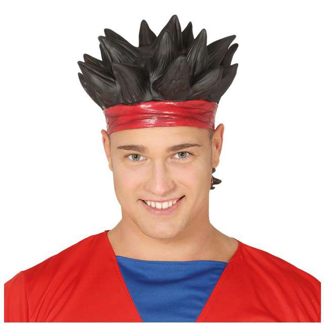 "Peruka party ""Son Goku"", czarny, GUIRCA"