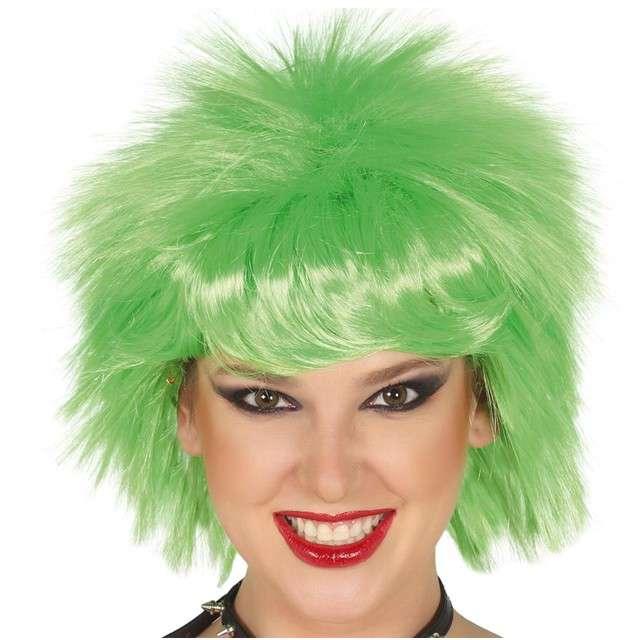 "Peruka party ""Dziki Punk"", zielona, GUIRCA"