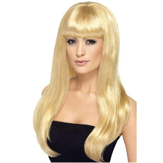 "Peruka party ""Atrakcyjna Tiffany"", blond, SMIFFYS"