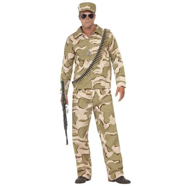 """Strój dla dososłych """"Żołnierz Comando"""", SMIFFYS, rozm. M"""