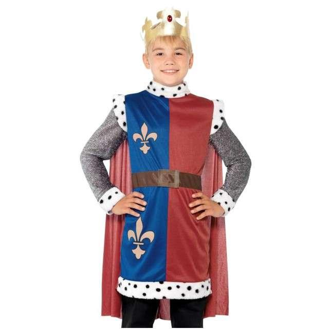 """Strój dla dzieci """"Król Artur"""", SMIFFYS, rozm. 7-9 lat"""