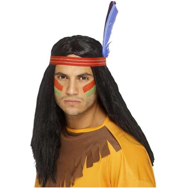 "Peruka party ""Indianin"", czarna, SMIFFYS"