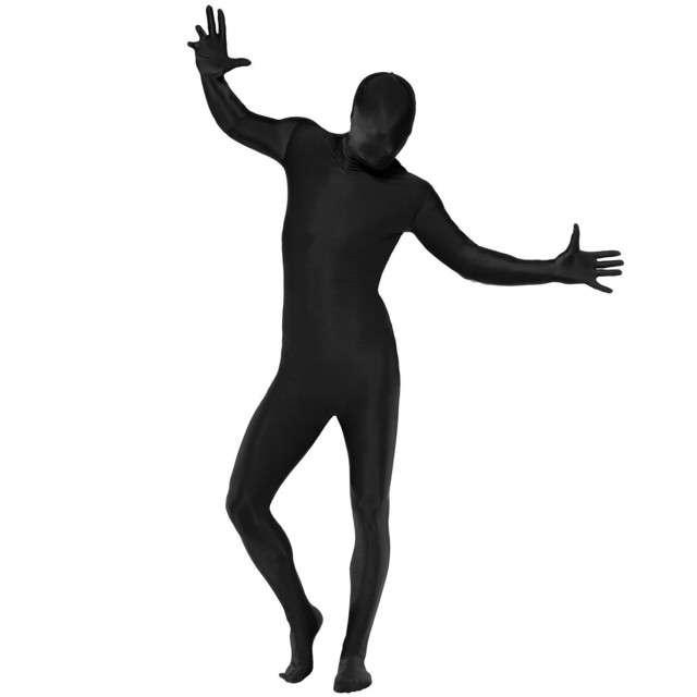 """Strój dla dorosłych """"Morphsuit - kombinezon"""", czarny, SMIFFYS, rozm. XL"""