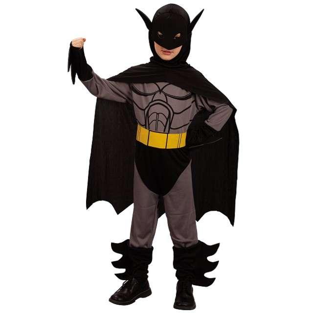 """Strój dla dzieci """"Mroczny Rycerz - Batman"""", GODAN, rozm. 120/130"""