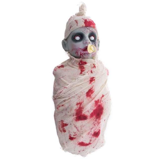 """Dekoracja """"Płaczące Dziecko Zombie"""", FunnyFashion, 50 cm"""