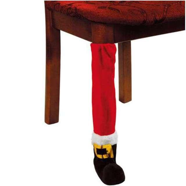 """Dekoracja """"Świąteczna ozdoba na krzesło/stół"""", Kraszek"""